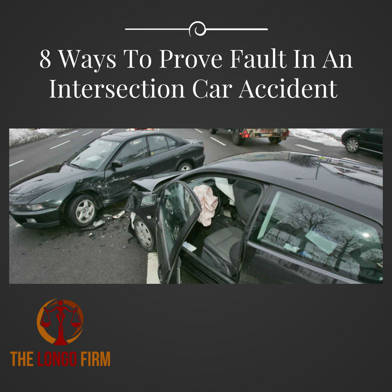 Prove Fault Intersection Car Accident